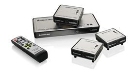 Long Range Wireless 5x2 HDMI Matrix PRO with 2 Additional Receivers
